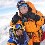 当院、看護師が1シーズンで8000m峰を3座登頂に成功!
